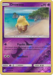 Sun & Moon (Base Set), Drowzee - 59/149 - Common Reverse Holo
