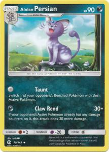 Sun & Moon (Base Set), Alolan Persian - 79/149 - Uncommon