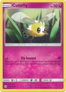 Sun & Moon (Base Set), Cutiefly - 92/149 - Common