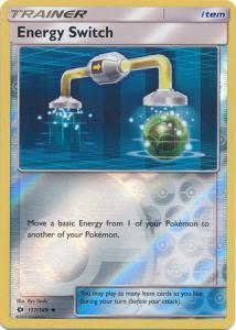 Sun & Moon (Base Set), Energy Switch - 117/149 - Uncommon Reverse Holo