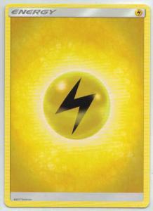 Sun & Moon (Base Set), Lightning Energy 2017