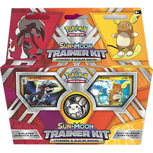 Pokémon, Sun & Moon Trainer Kit - Lycanroc & Alolan Raichu