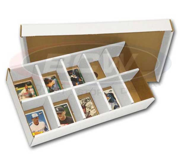 Storage Box / Sorting Tray, 1000 cards (10 cells) / SORTING TRAY STORAGE BOX
