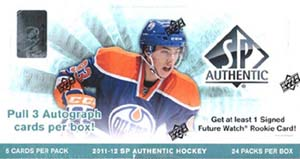 Sealed Box 2011-12 SP Authentic