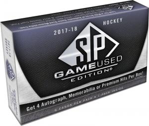 Sealed Box 2017-18 SP Game Used Hockey
