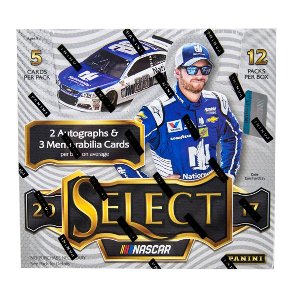Hel Box 2017 Panini Select Racing Hobby (Nascar)