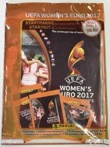 Album, Panini Stickers Women's Euro 2017 incl. 5 packs