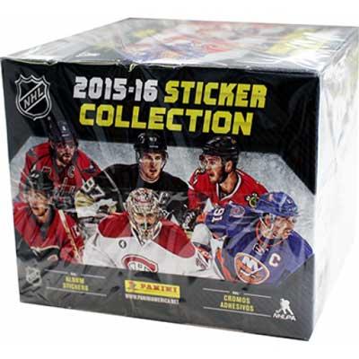2015-16 Panini NHL Stickers Box