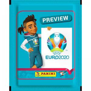 Pack (5 stickers), Panini Stickers Euro 2020 Preview
