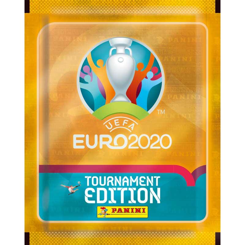 Paket (5 stickers), Panini Stickers Euro 2020 TOURNAMENT EDITION (2021)