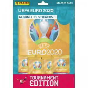 Starter Pack, Panini Stickers Euro 2020 TOURNAMENT EDITION (2021)