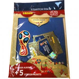 1 Starter Pack (Album + sticker packs), Panini Stickers World Cup 2018