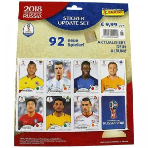 Update Set (92 stickers), Panini Stickers World Cup 2018