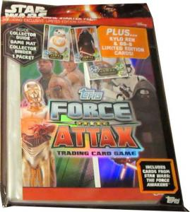 Starter Pack, Star Wars Force Attax (The force awakens)
