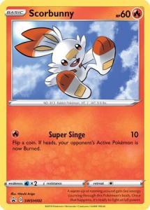 Pokemon Sw&Sh - Scorbunny - SWSH002 – Holo Promo