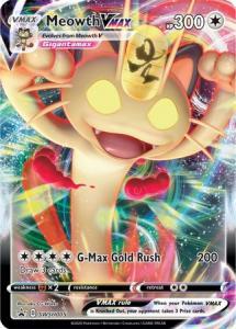 Pokemon Sw&Sh Promo - Meowth VMAX - SWSH005 - Promo