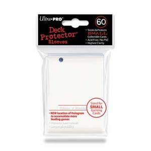 Small deck protector sleeves, vit, 60st - Ultra Pro