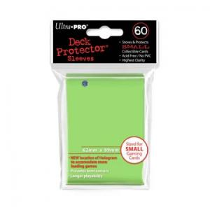 Small deck protector sleeves, lime, 60ct - Ultra Pro
