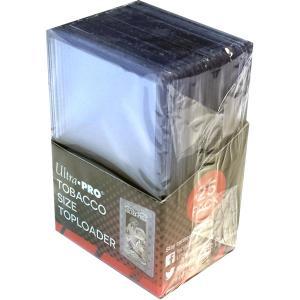 Tobacco Size Toploader - 25ct (Inte för vanliga kort)
