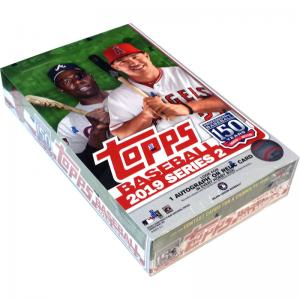 Sealed Box 2019 Topps Series 2 Baseball Hobby