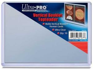 Toploader, Vertical Booklet, 10st