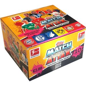 Hel Box (36 paket) 2018-19 Topps Match Attax Tyska Bundesliga