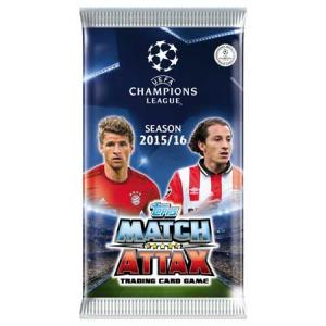 1 Pack Topps MA Champions League 2015-16