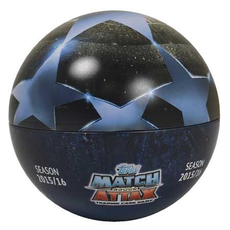 Ball Tin Nordic Edition Topps MA Champions League 2015-16