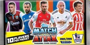 Paket, Topps Match Attax Premier League 2014-15