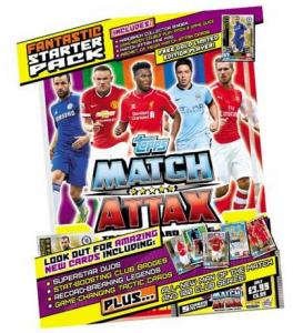 Startpaket, Topps Match Attax Premier League 2014-15