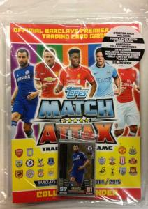 Startpaket, NORDIC EDITION Topps Match Attax Premier League 2014-15