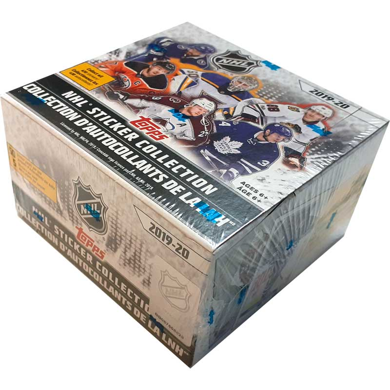 Sealed Box 2019-20 Topps NHL Stickers - North American