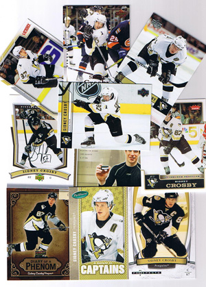 Sidney Crosby pack, 10ct lot