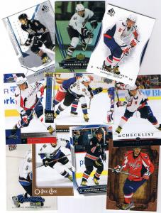 Alexander Ovechkin pack, 10ct lot