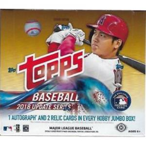 Hel Box 2018 Topps update series baseball JUMBO