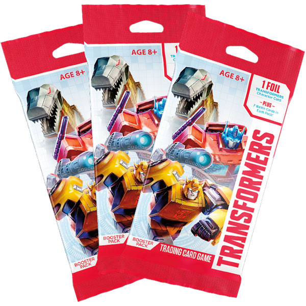 Transformers TCG - 3 Boosters