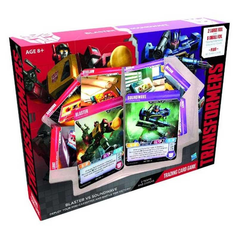 Transformers TCG - Blaster vs Soundwave Deck (Vanlig)