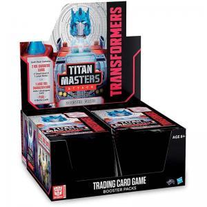 Transformers TCG - Titan Masters Attack - Booster Display (30 Packs)