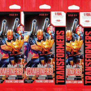 Transformers TCG - Rise of the Combiners Booster - 3 Booster