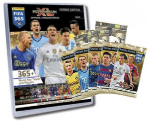 1 Mega Starter Pack, Nordic Edition Panini Adrenalyn XL FIFA 365 2015-16
