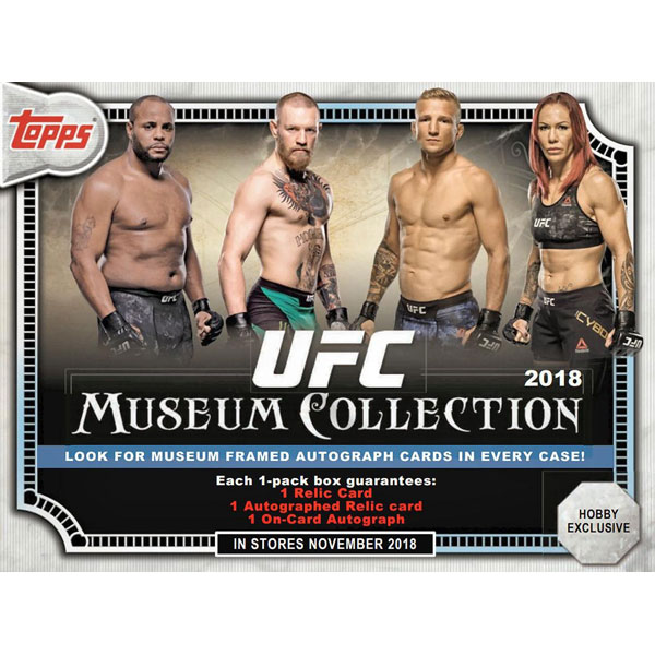 Hel Box 2018 Topps UFC Museum Collection