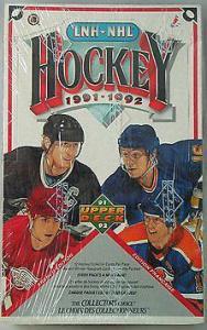 Hel Box 1991-92 Upper Deck French Edition, Låga Serien