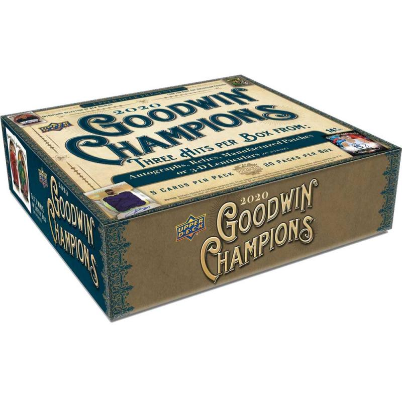 Hel Box 2020 Upper Deck Goodwin Champions Hobby