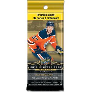 1st Fat Pack 2018-19 Upper Deck Serie 1 Fat Pack