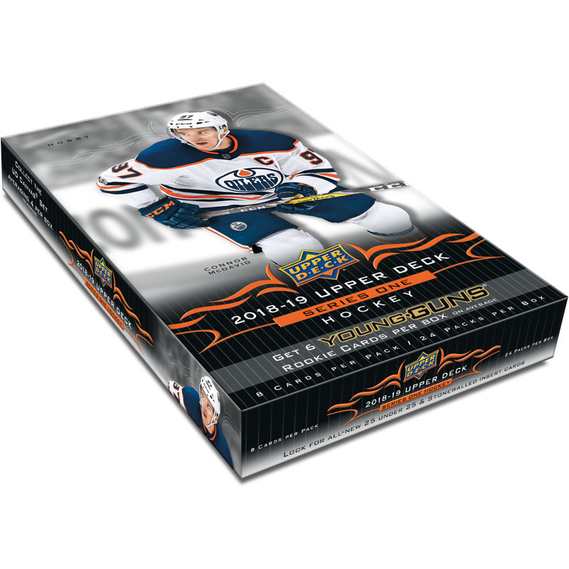 Sealed Box 2018-19 Upper Deck Series 1 Hobby