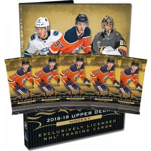 Starter Kit 2018-19 Upper Deck Serie 1