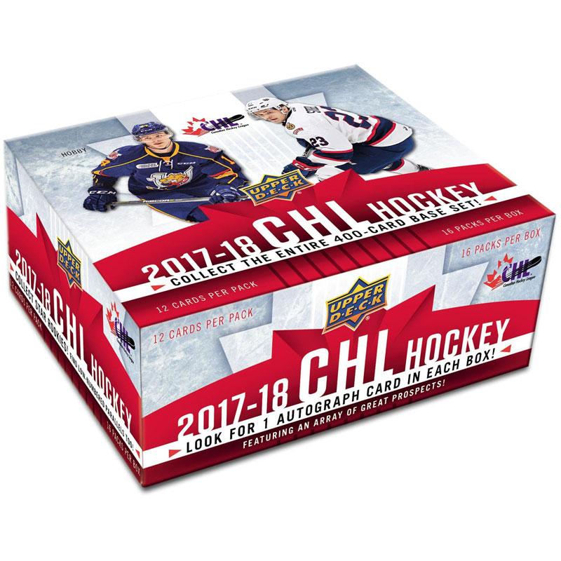 Hel Box 2017-18 Upper Deck CHL (Canadian Hockey League)