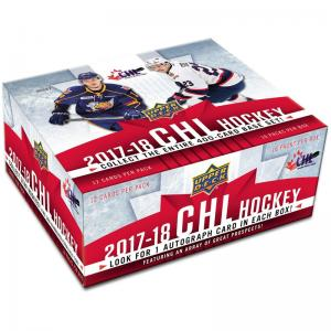 Hel Box 2017-18 Upper Deck CHL (Canadian Hockey League)