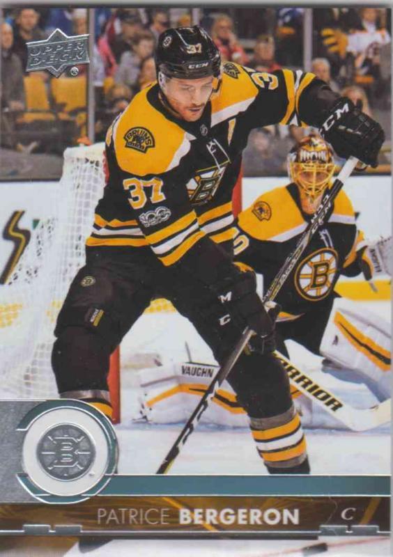 Patrice Bergeron - Boston Bruins 2017-2018 Upper Deck s2 #264