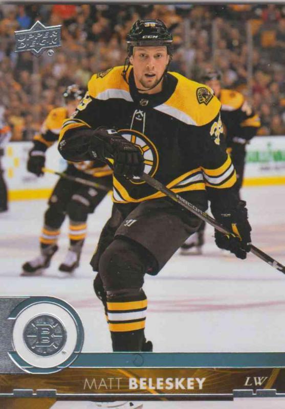 Matt Beleskey - Boston Bruins 2017-2018 Upper Deck s2 #268